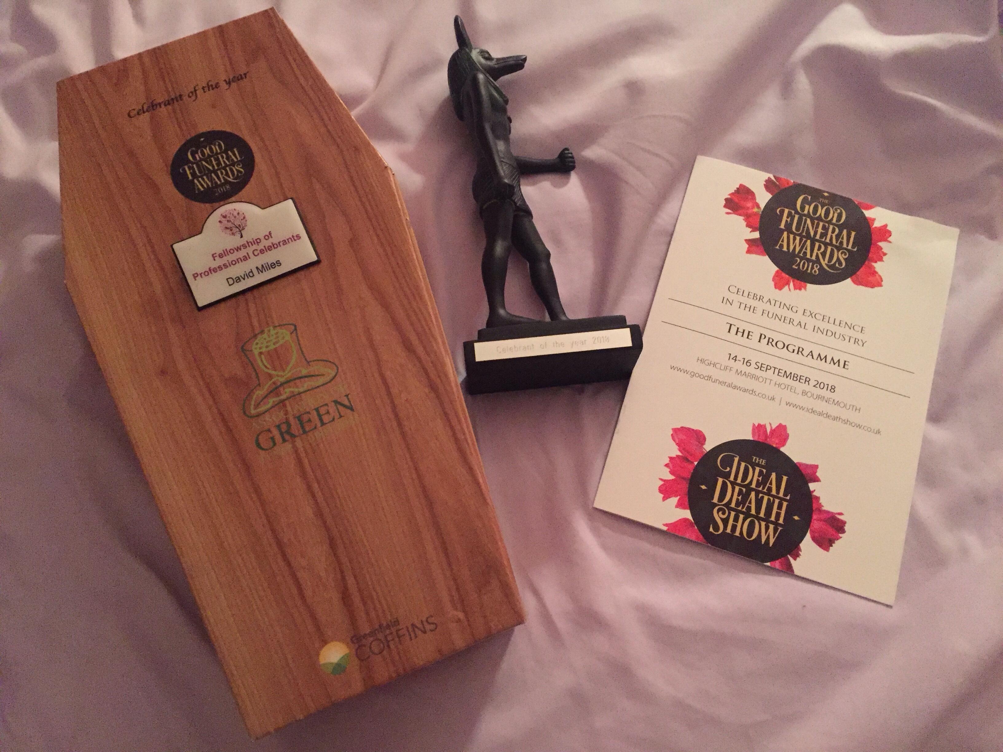 2018 Celebrant awards